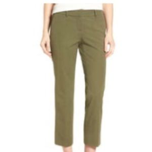 Olive Green Halogen Cropped Pants